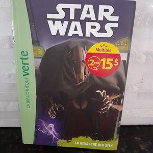2/$10 French kids book Star Wars